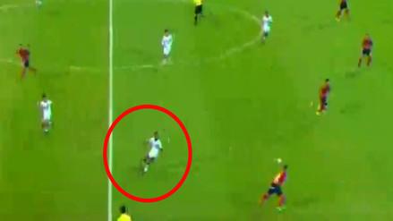 Nilson Loyola falló clamorosamente en el primer gol del DIM ante Melgar