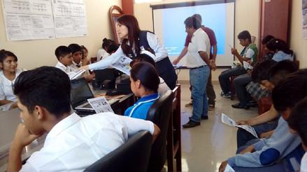 ONPE capacitó a organizaciones vecinales en procesos de elecciones internas