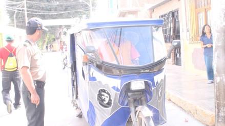 Chiclayo: aplicarán multas a mototaxistas que infrinjan normas en Reque