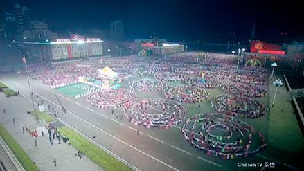 El impresionante espectáculo artístico que montaron en Corea del Norte