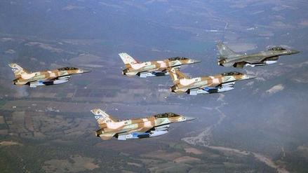 Aviones israelíes bombardean a Ejército sirio en Altos del Golán