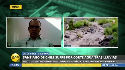 ¿Por qué Chile soporta una crisis de agua potable similar a la que tuvo el Perú?
