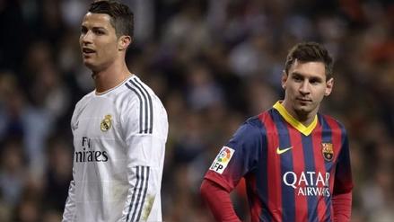 Ronaldo y Messi, nuevo duelo de los reyes del fútbol en el derbi español