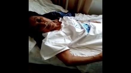 Chincha: Nieta denuncia que su abuela fue atada en hospital del Minsa