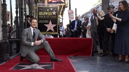 Chris Pratt recibió estrella con su nombre en el Paseo de la Fama