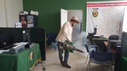 Ya son 10 los policías con dengue en la región Lambayeque