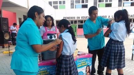 Casi 25 mil alumnas serán vacunadas contra el Virus del Papiloma Humano