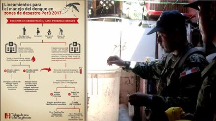 Salud, Ejército y voluntarios se movilizan en prevención contra el dengue