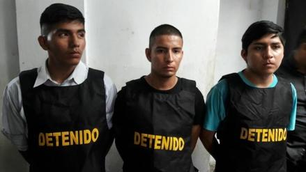 Detienen a tres jóvenes implicados en asesinato de persona que se opuso a robo