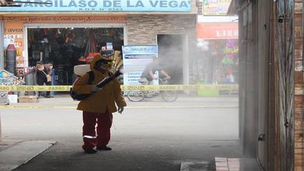 Huaral: refuerzan trabajos de prevención contra el dengue