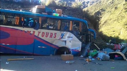 Dos muertos dejó accidente de tránsito en carretera Carhuaz - Chacas