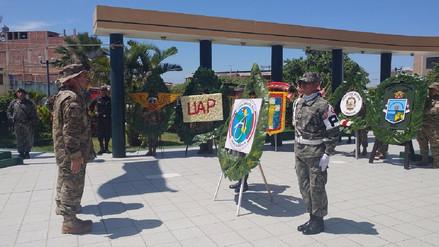 Fuerza Aérea rindió homenaje al héroe José A. Quiñonez Gonzáles