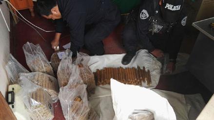 Juliaca: incautan unos 14 mil cartuchos de dinamita en La Rinconada