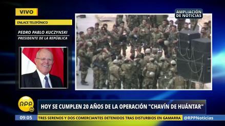 """PPK: """"Chavín de Huántar fue el clavo final en el ataúd del terrorismo"""""""