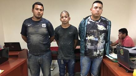 Capturan a 3 integrantes de banda criminal