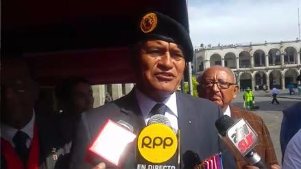 Comando Cabrera participó de izamiento de bandera en Arequipa