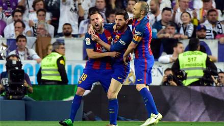 Lionel Messi le anotó un golazo al Real Madrid en el Santiago Bernabéu