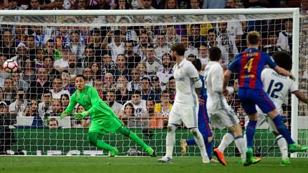 Ivan Rakitic silenció al Bernabéu con un golazo inalcanzable para Navas