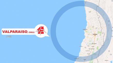 Un sismo de 6,9 grados se registró en el centro de Chile
