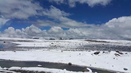 Ráfagas de viento, nevada e intenso frío se registrará en Arequipa