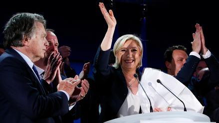 Marine Le Pen deja la presidencia del Frente Nacional para convencer a votantes