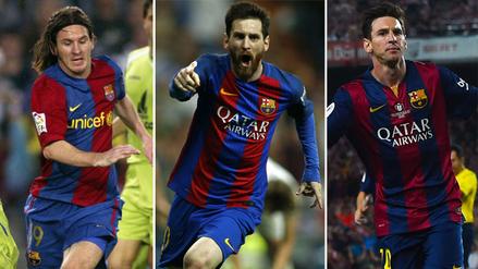 Cinco goles inolvidables de Lionel Messi con la camiseta del Barcelona