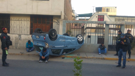 Capturan a tres delincuentes tras persecución policial en Arequipa