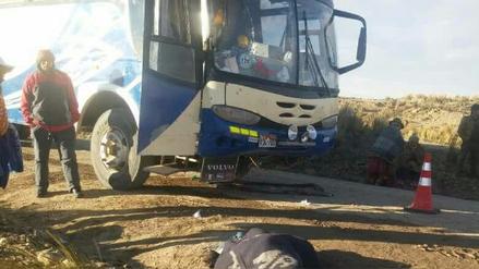 Huancané: un muerto dejó asalto a bus en la vía Vilquechico - Cojata