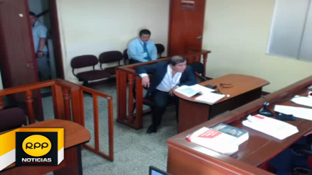 Chimbote: juez suspende audiencia porque fiscal asistió con