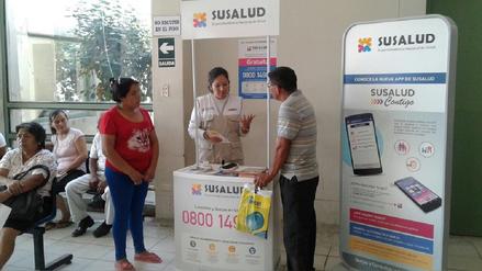SUSALUD instala módulos en Piura ante reclamos por cobros indebidos