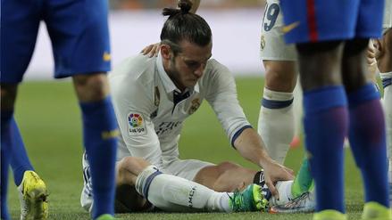 Bale sufre nueva lesión muscular y se perderá las semifinales de Champions