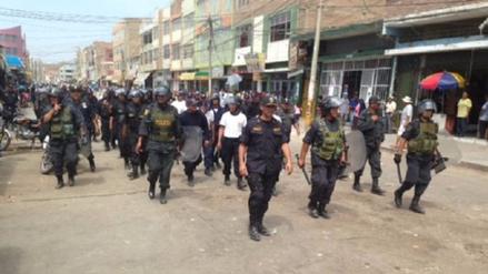 Municipio de Chiclayo pagará día de franco a policías para combatir informales