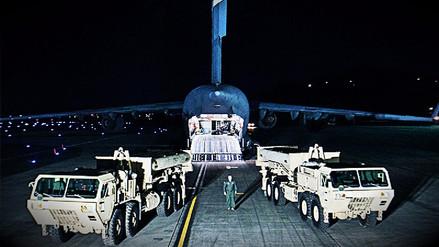 Estados Unidos movió su escudo antimisiles en Corea del Sur
