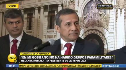 "Ollanta Humala: ""PPK dijo que no iba a indultar a Fujimori"""