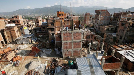 A dos años del terremoto, la reconstrucción en Nepal no llega al 5%