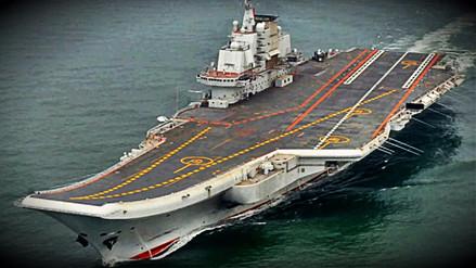 China lanzó su segundo portaaviones en su frontera noreste