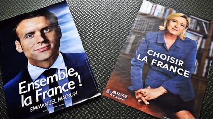Interactivo | Las diferencias entre las propuestas de Le Pen y Macron