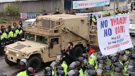 China criticó la instalación del escudo THAAD en Corea del Sur y dijo que tomará medidas