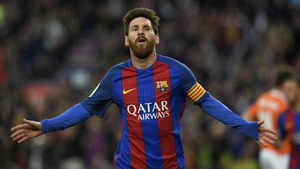 Barcelona goleó 7-1 a Osasuna y el Camp Nou se rindió ante Lionel Messi