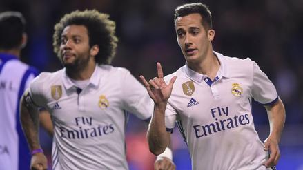 Real Madrid no se quedó atrás y goleó 6-2 al Deportivo La Coruña
