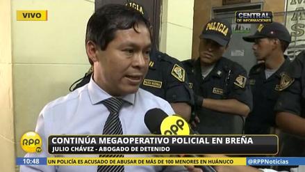 """Abogado de exmilitar detenido: """"Es falso que entrene a delincuentes"""""""