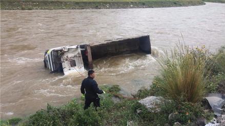 Un herido y un desaparecido deja despiste de camión en Jauja