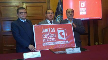 Solicitan a Congreso aprobar Reforma Electoral antes de setiembre
