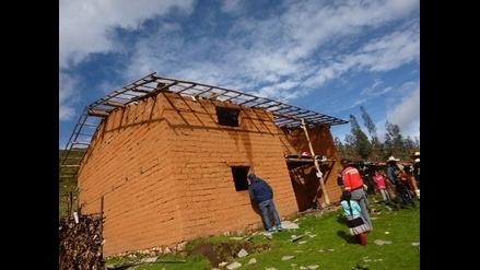 Huamachuco: lluvias y fuertes vientos se llevan techos en Sanjapampa