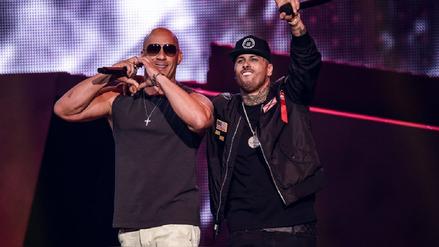 Video | Vin Diesel y Nicky Jam cantaron juntos en Billboard 2017