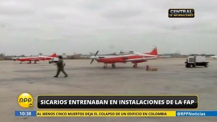 Sicarios se entrenaban en instalaciones de la Fuerza Aérea del Perú