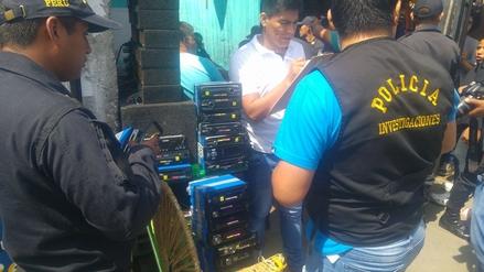 Chimbote: decomisan autorradios valorizados en 40 mil soles