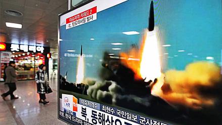 Corea del Norte lanzó un nuevo misil balístico al mar de Japón