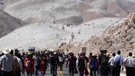 Sensación de frío llegará a - 2 grados durante peregrinación a Virgen de Chapi