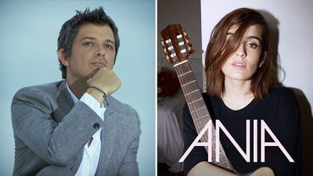 Alejandro Sanz respalda el debut de la cantante peruana Ania